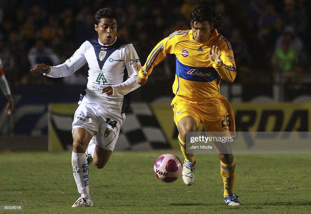 Tigres vs San Luis - Apertura 2009 : ニュース写真