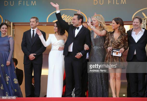 Noee Abita Guillaume Canet Leila Bekhti director Gilles Lellouche Virginie Efira Marina Fois and Mathieu Amalric attend the screening of Sink Or Swim...