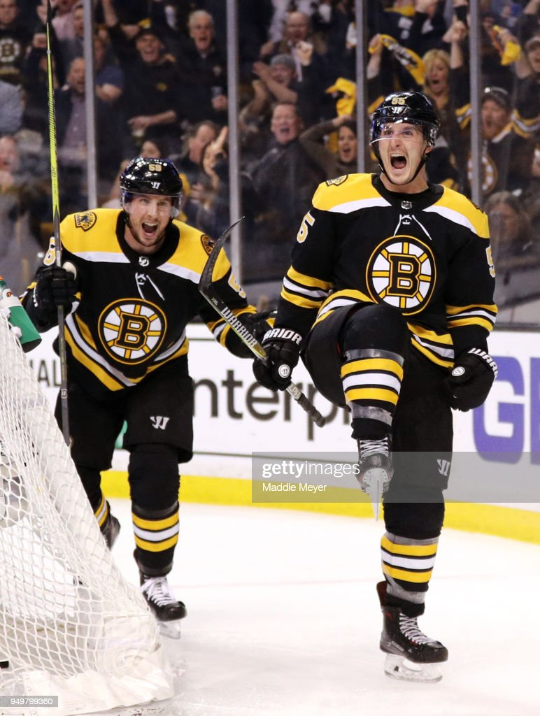 Toronto Maple Leafs v Boston Bruins - Game Five : News Photo