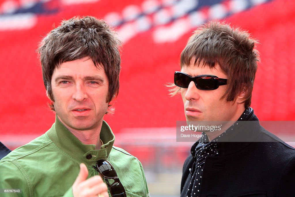 Oasis Photo Session At Wembley
