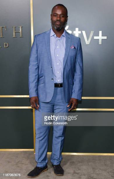 Noel Arthur attends the Premiere of Apple TV's Truth Be Told at AMPAS Samuel Goldwyn Theater on November 11 2019 in Beverly Hills California