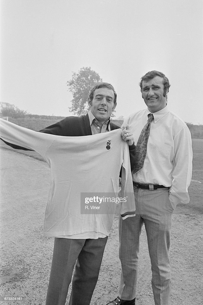 Noel Cantwell And Ian St John : News Photo