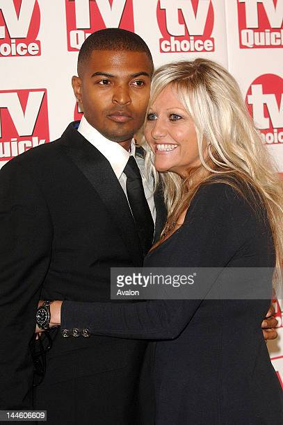 Noel Clarke and Camille Coduri attending TV Quick and TV Choice Awards Dorchester Hotel London 4th September 2006 Job 14979