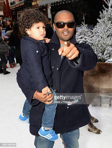 Noel Clarke attends Disney's 'Frozen' celebrity screening at the Odeon Leicester Square on November 17 2013 in London England