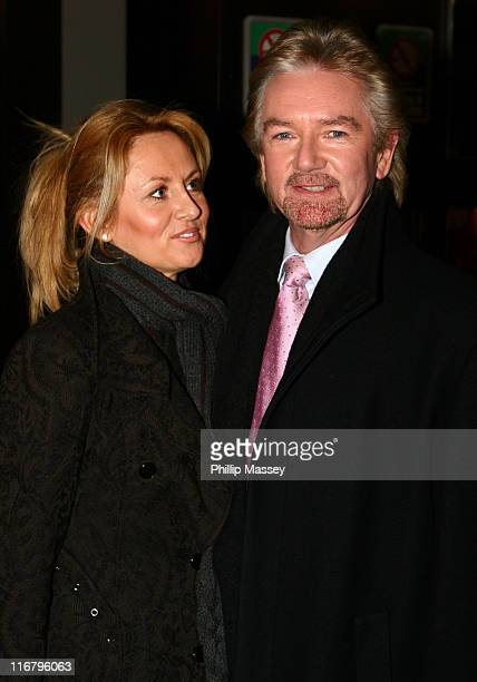 Noel Edmonds and Girlfriend during Noel Edmonds Appears on the Late Late Show at RTE Studios in Dublin Ireland