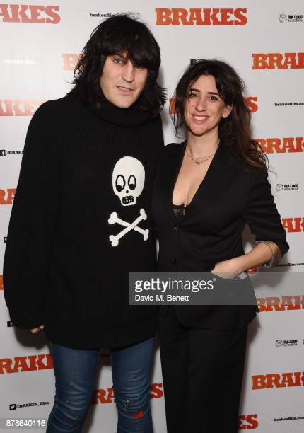 Noel Fielding and Mercedes Grower attend a special screening of Brakes at the Picturehouse Central on November 24 2017 in London England