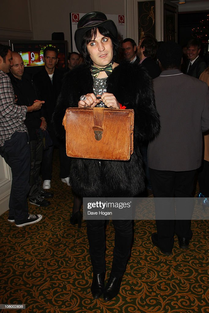 Noel Fielding arrives at the Q Awards 2010 held at The Grosvenor House Hotel on October 25, 2010 in London, England.