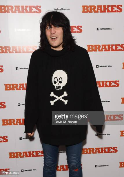 Noel Fielding attends a special screening of Brakes at the Picturehouse Central on November 24 2017 in London England
