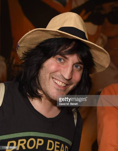 Noel Fielding attends a special screening of Snapshots a short film by Lliana Bird Phoebe Barran at the Everyman Maida Vale on July 17 2019 in London...
