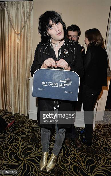 Noel Fielding attends the after party for the UK Premiere of 'The Imaginarium Of Doctor Parnassus' at the Langham Hotel on October 6 2009 in London...