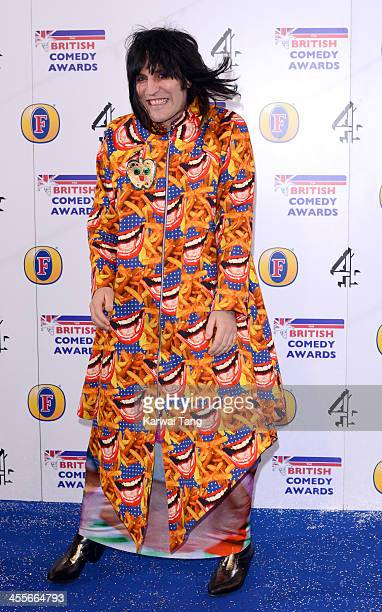 Noel Fielding attends the British Comedy Awards at Fountain Studios on December 12 2013 in London England