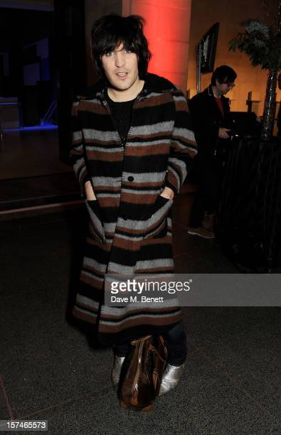 Noel Fielding attends the Turner Prize 2012 winner announcement at the Tate Britain on December 3 2012 in London England