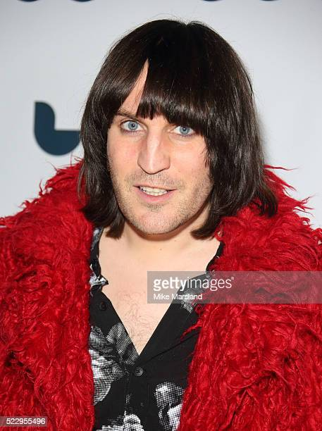 Noel Fielding attends the UK film premiere of 'Set The Thames On Fire' on April 21 2016 in London United Kingdom