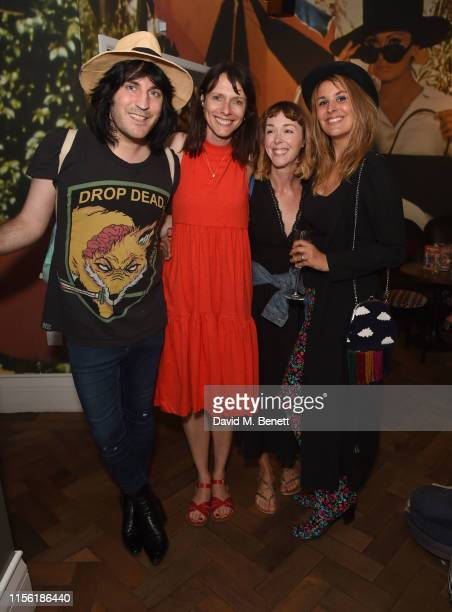 Noel Fielding Dolly Wells Laura Patch and Lliana Bird attend a special screening of Snapshots a short film by Lliana Bird Phoebe Barran at the...