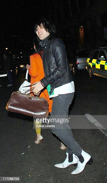 Noel Fielding during Kirsten Dunst Sighting at the Hawley Arms Pub In London April 23 2007 in London Great Britain