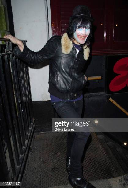 Noel Fielding during Pixie Geldof's Birthday Party April 3 2007 at The Eve Club in London Great Britain