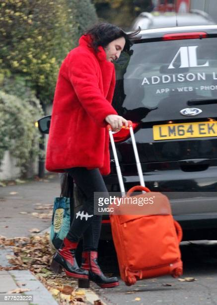 PHOTOS* Noel Fielding seen in North London on November 22 2017 in London England