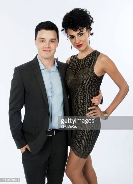 Noel Fisher and Layla Alizada are photographed for Los Angeles Times on August 25 2014 in Los Angeles California PUBLISHED IMAGE CREDIT MUST BE Kirk...