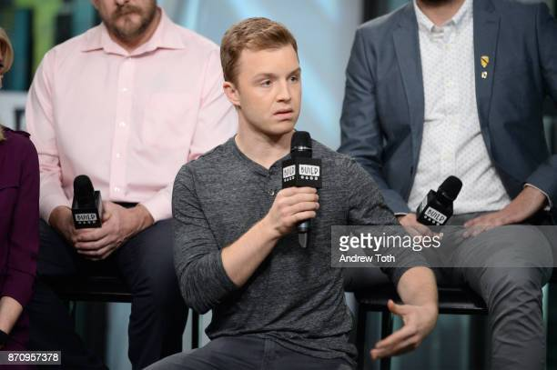 Noel Fisher attends Build presents the cast of 'The Long Road Home' at Build Studio on November 6 2017 in New York City