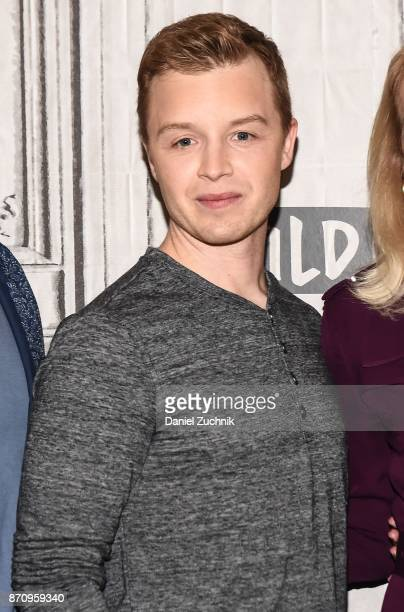 Noel Fisher attends the Build Series to discuss the miniseries 'The Long Road Home' at Build Studio on November 6 2017 in New York City