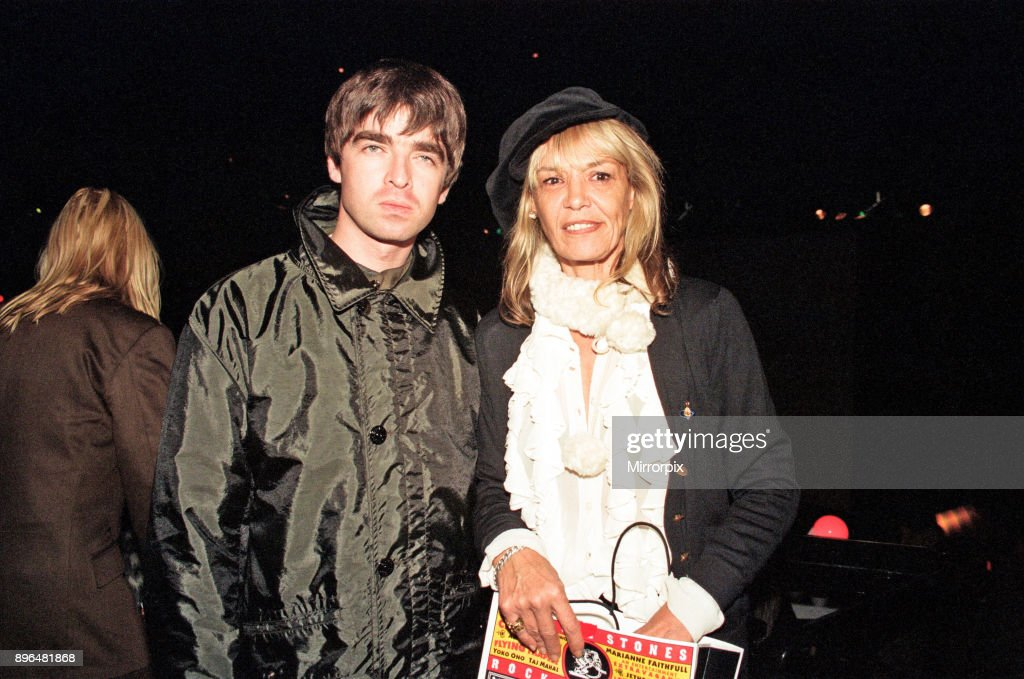 Noel Gallagher and Anita Pallenbergat : News Photo