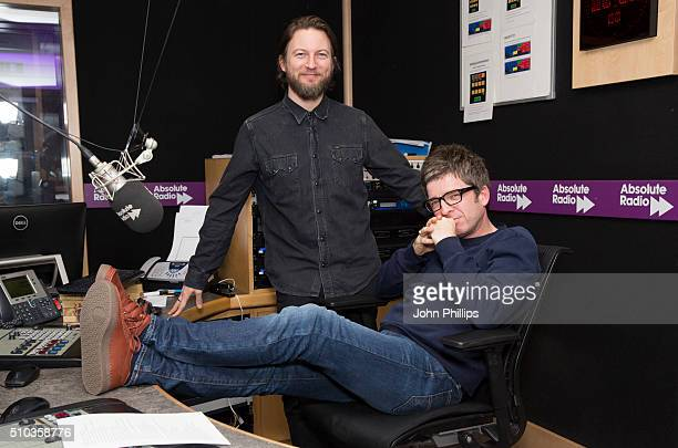 Noel Gallagher and comedian Matt Morgan host a special show for Absolute Radio on February 11 2016 in London England