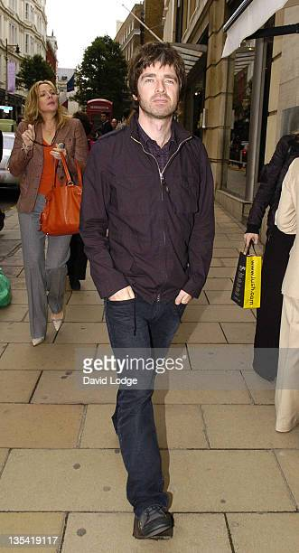 Noel Gallagher and Kim Cattrall during Celebrity Sightings in London October 18 2006 at London in London Great Britain
