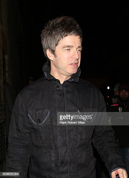 Noel Gallagher at the Chiltern Firehouse on February 11 2016 in London England