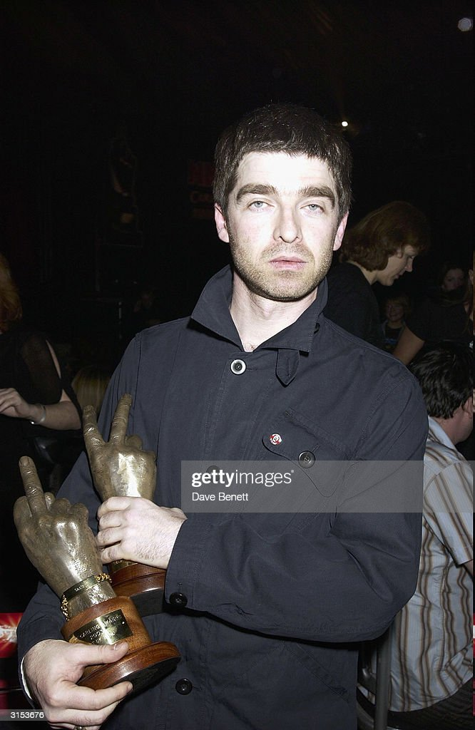 Noel Gallagher attends the 2003 NME Carling Awards at Po Na Na Club in Hammersmith on February 14, 2003 in London.