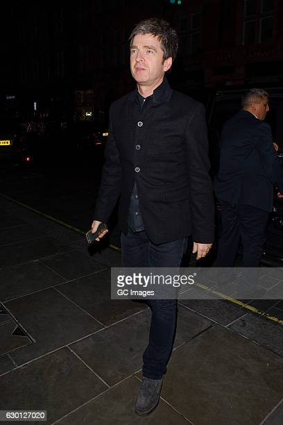 Noel Gallagher attends the LOVE Magazine Christmas party at George Club on December 16 2016 in London England
