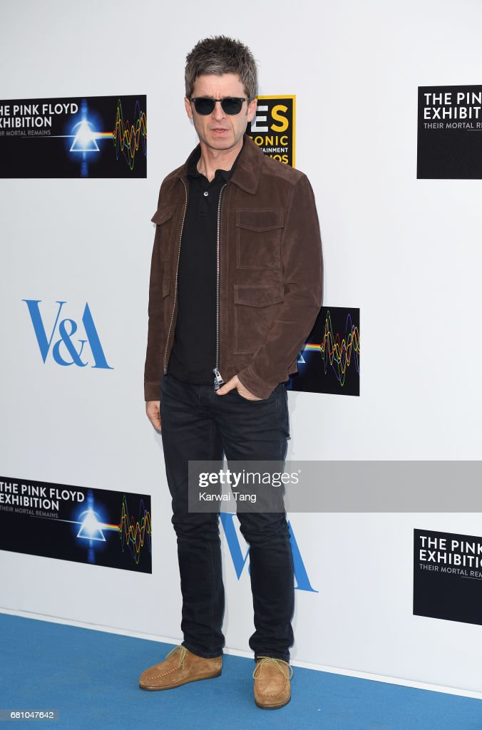 Noel Gallagher attends the Pink Floyd Exhibition: Their Mortal Remains at The V&A Museum on May 9, 2017 in London, England.