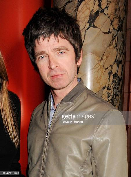Noel Gallagher attends the private view for the 'David Bowie Is' exhibition in partnership with Gucci and Sennheiser at the Victoria and Albert...