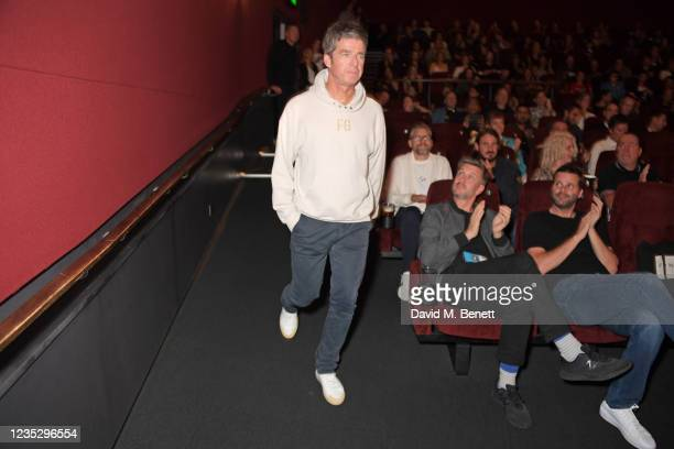 """Noel Gallagher attends the World Premiere of """"Oasis Knebworth 1996"""" at the Picturehouse Central on September 16, 2021 in London, England."""