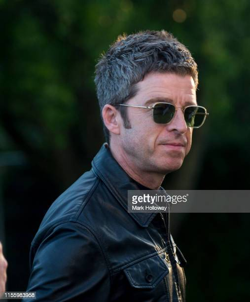 Noel Gallagher backstage at Isle of Wight Festival 2019 at Seaclose Park on June 14 2019 in Newport Isle of Wight