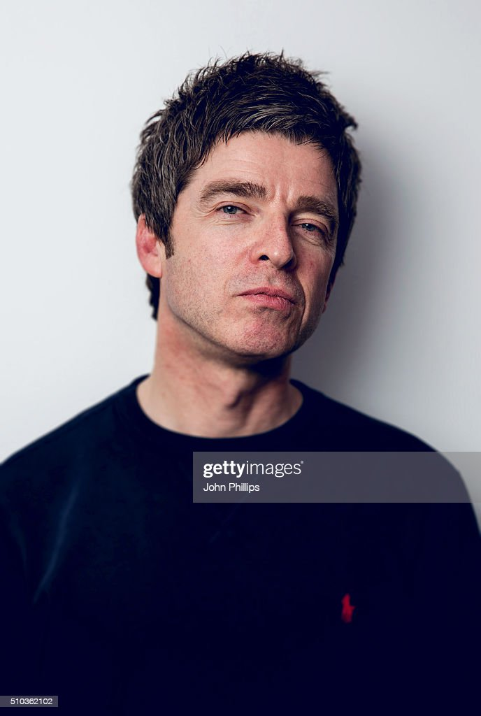 Noel Gallagher Co-Hosts a special show for absolute radio with Matt Morgan at Absolute Radio on February 11, 2016 in London, England.