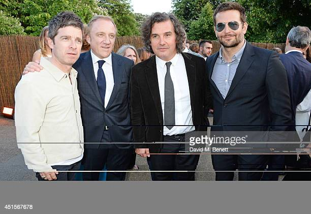 Noel Gallagher FrancoisHenri Pinault Ant Genn and Bradley Cooper attend The Serpentine Gallery Summer Party cohosted by Brioni at The Serpentine...