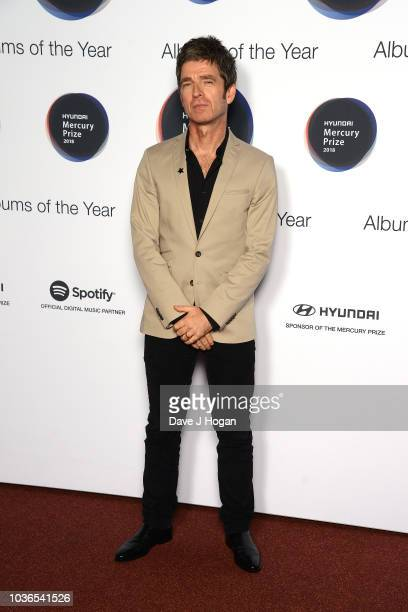 Noel Gallagher of Noel GallagherÕs High Flying Birds attends the Hyundai Mercury Prize 2018 at Eventim Apollo on September 20 2018 in London England