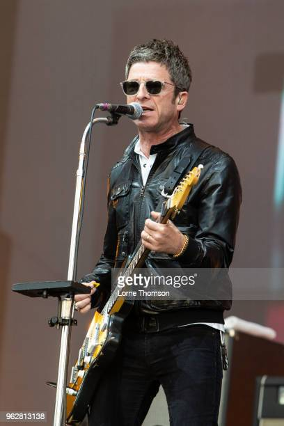 Noel Gallagher of Noel Gallagher's High Flying Birds performs at BBC Radio The Biggest Weekend at Scone Palace on May 26 2018 in Perth Scotland