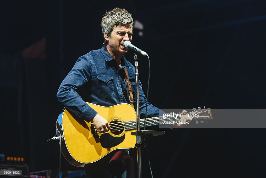 Noel Gallagher of Noel Gallagher's High Flying Birds performs on Day 6 at the Sziget Festival 2016 on August 15, 2016 in Budapest, Hungary.