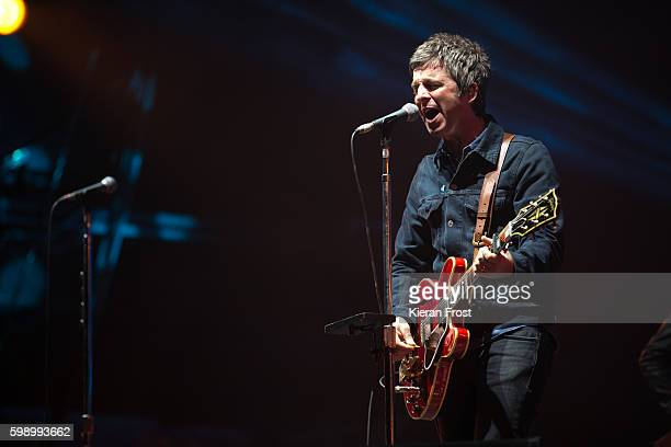 Noel Gallagher performs at electric Picnic at Stradbally Hall Estate on September 3 2016 in Dublin Ireland
