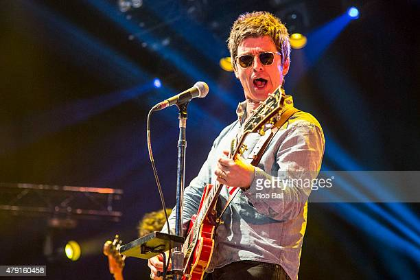 Noel Gallagher performs at Roskilde Festival on July 1 2015 in Roskilde Denmark