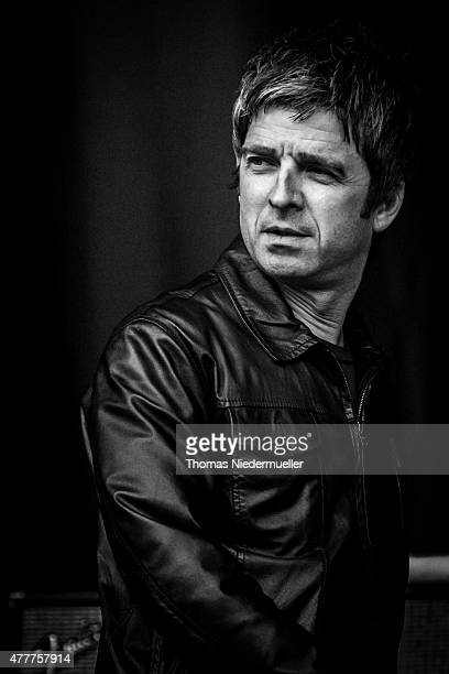 Noel Gallagher performs with High Flying Birds during day 1 of Southside Festival on June 19 2015 in Neuhausen Germany