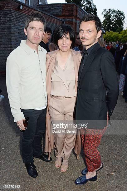Noel Gallagher Sharleen Spiteri and Matthew Williamson attend The Serpentine Gallery Summer Party cohosted by Brioni at The Serpentine Gallery on...