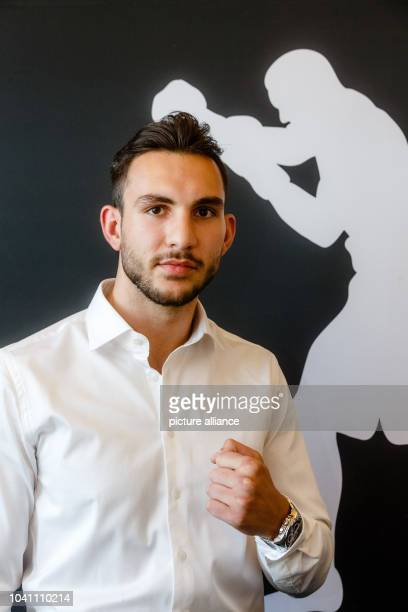 Noel Gevor WBOInternational Champion in cruiserweight poses in Hamburg Germany 14 September 2016 He will box at the first event of the new boxing...