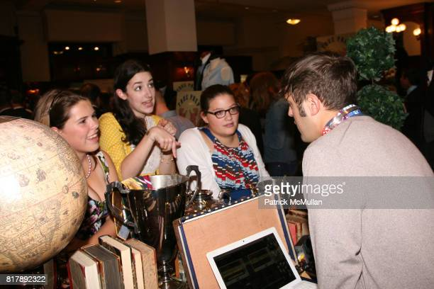 Noel Grisanti Boko Haft Charlotte Johnson and Andrew Bevan attend The launch of 'True Prep' at Brooks Brothers on September 14 2010 in New York