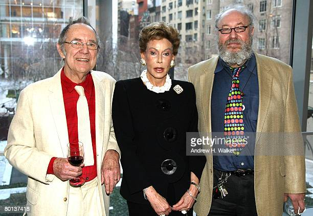 Noel Harrison Lady Mercia Harrison and Carey Harrison attend MoMA's Rex Harrison A Centenary Tribute on March 5 2008 in New York City