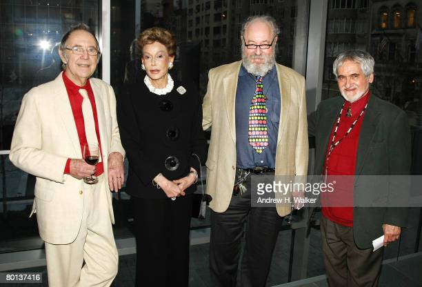 Noel Harrison Lady Mercia Harrison Carey Harrison and MoMA Associate Curator Department of Film Charles Silver attend MoMA's Rex Harrison A Centenary...