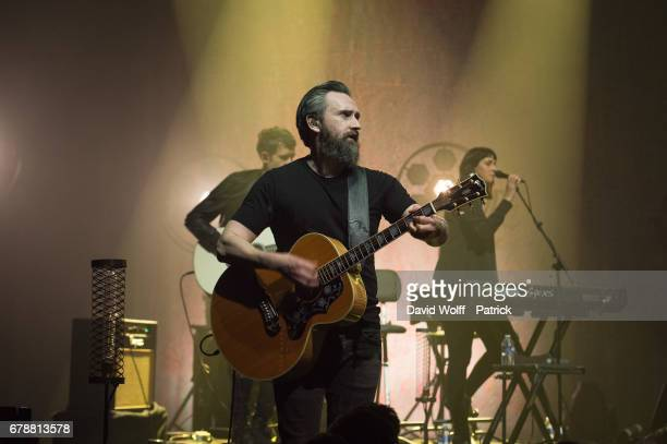 Noel Hogan from The Cranberries performs at L'Olympia on May 4 2017 in Paris France