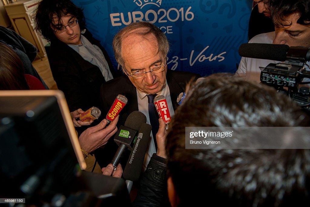UEFA EURO 2016 Steering Committee Meeting - Lyon