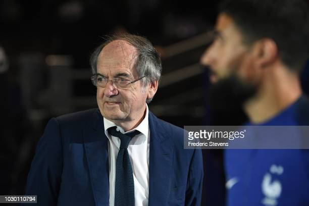 Noel Le graet president of France Football Federation during the UEFA Nations League A group official match between France and Netherlands at Stade...